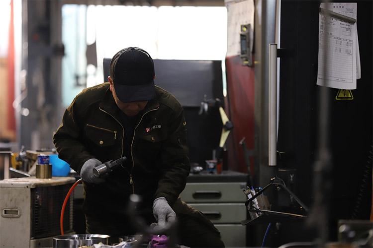 社員を大事にする町工場
